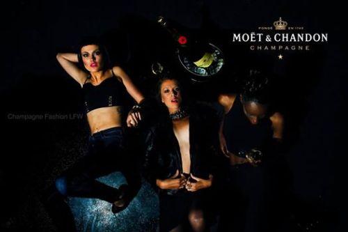 Champagne Fashion LFW event