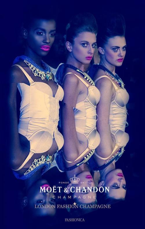 Jolita Jewellery - Champagne Fashion LFW event