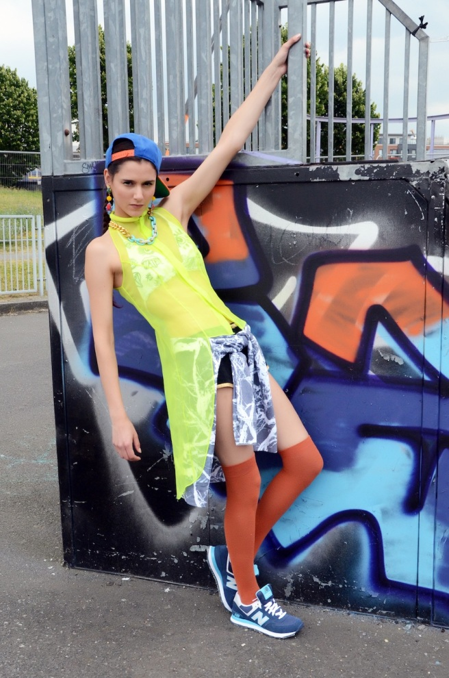 I Honestly Think magazine - London Fashion Week issue September 2014 - In our pastel colourful Kniginia statement earrings