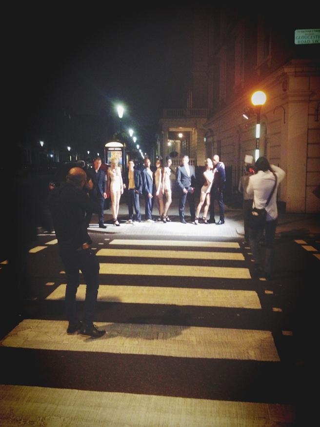 Champagne Fashion - London Fashion Week September 2014, showcasing Jolita Jewellery