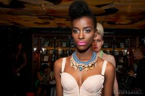 In Jolita Jewellery - Champagne Fashion LFW event, September 2014
