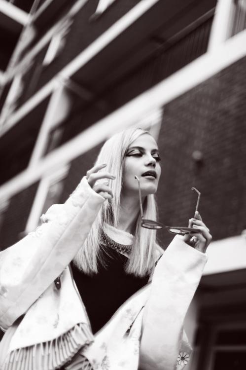 Bricks Magazine, November 2014 - in braided Damascus necklace by Jolita Jewellery