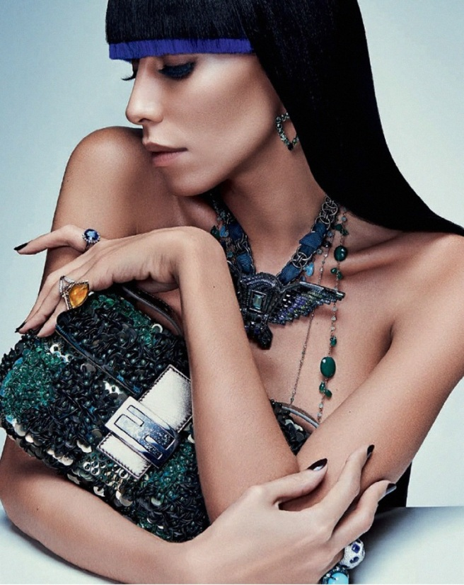 Lea T by Zee Nunes for Vogue Brazil April 2014