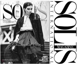 Solis Issue 12, November 2014, featuring Darken editorial with Jolita Jewellery