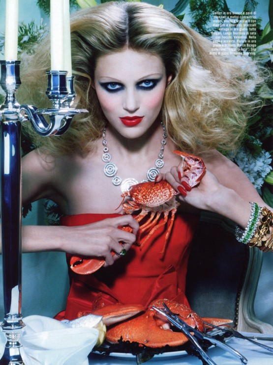 Anja-Rubik-by-Miles-Aldridge-for-Vogue-Italia-October-2005