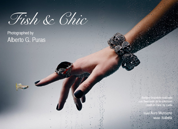 Alberto Puras - Fish & Chic editorial