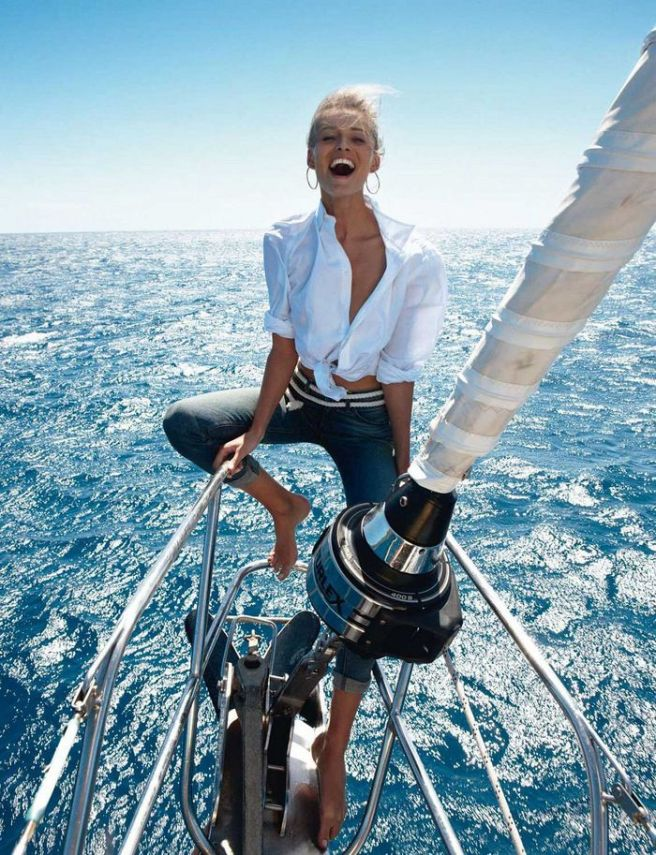 Vogue Paris May 2013 - Edita Vilkeviciute by Gilles Bensimon