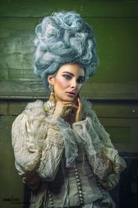 Ragged Rococo shoot - in Jolita Jewellery by Grzegorz Sikorski