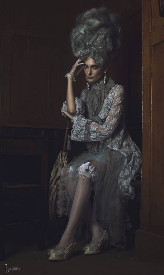 Ragged Rococo shoot - in Jolita Jewellery by Lisa Griffin