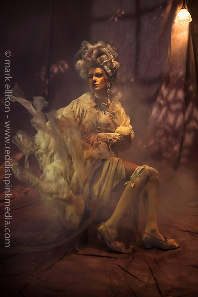 Ragged Rococo shoot - in Jolita Jewellery by Mark Ellison