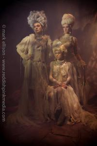 Ragged Rococo shoot - in Jolita Jewellery by Mark Ellison
