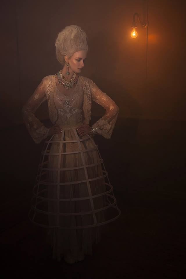 Ragged Rococo shoot - in Jolita Jewellery by Matt Booth