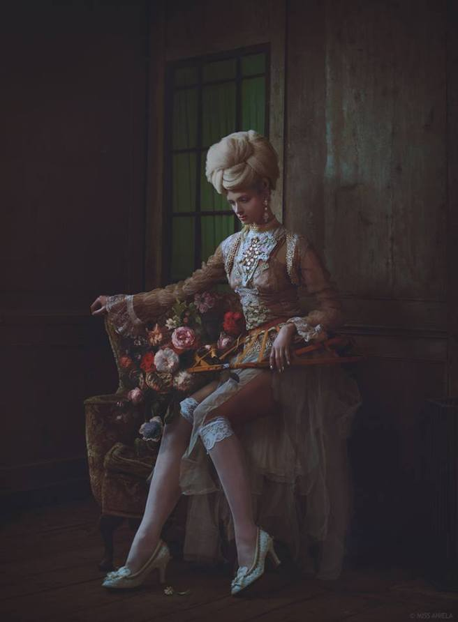 Ragged Rococo shoot - in Jolita Jewellery by Miss Aniela