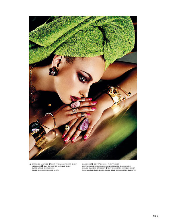 jewellery editorial for Highlights Magazine, photographed by Viktorija Pashuta