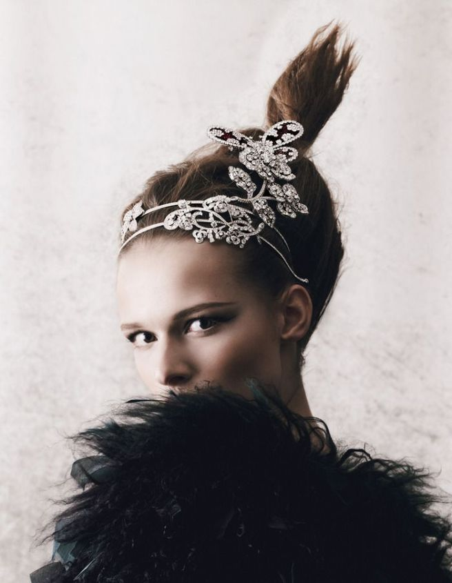 Jewels In The Crown editorial. Styling by Damian Foxe. Photographs by Yuval Hen