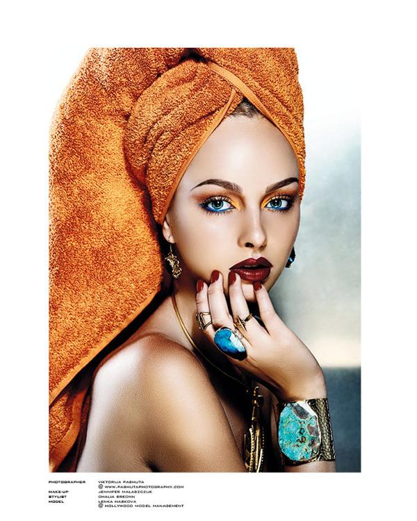 Jewellery Editorial For Highlights Magazine Photographed By Viktorija Pashuta