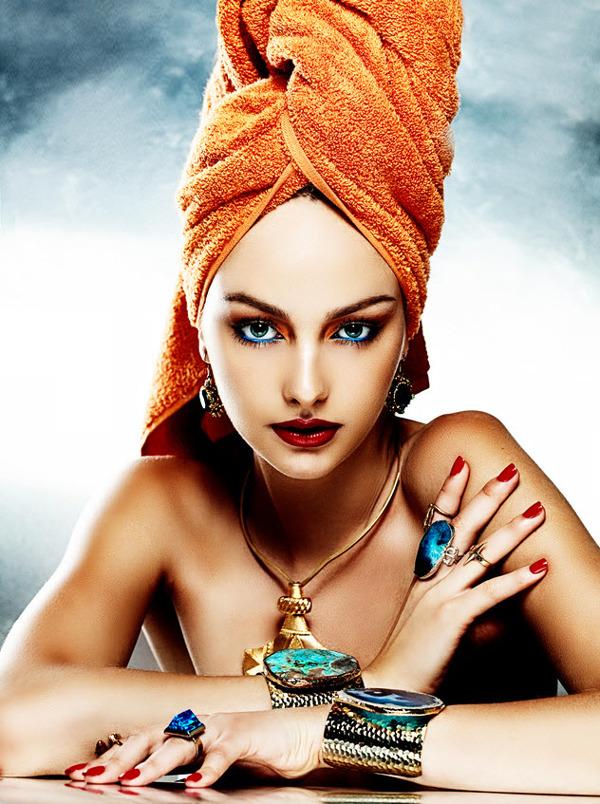jewellery editorial for Highlights Magazine, photographed by Viktorija Pashuta