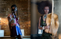 Material Girl editorial in Jolita Jewellery, published in Fashion Shift SS15 magazine