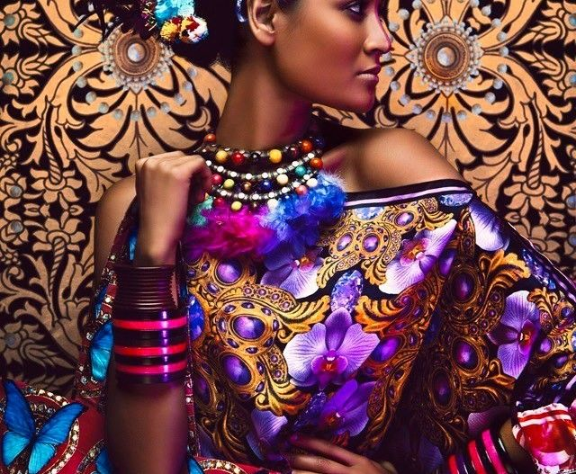 Colourful editorial by Anushka Menon Photography