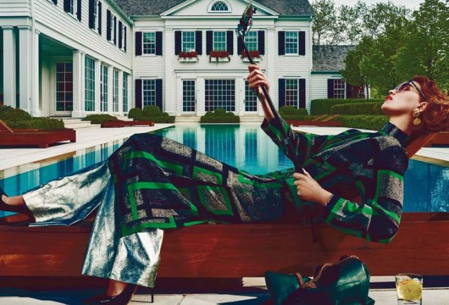 Arizona Muse by Steven Klein for Vogue US August 2015