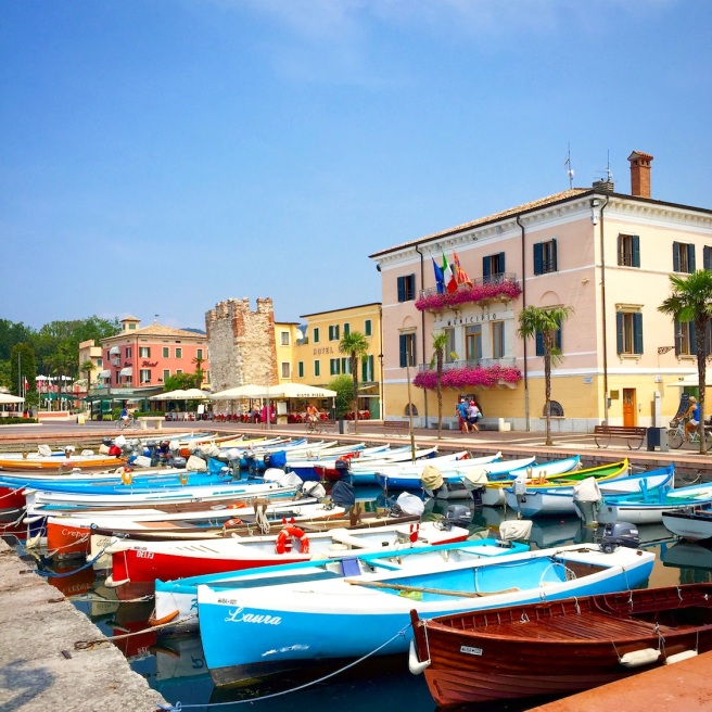 Bardolino, Lake Garda, July 2015