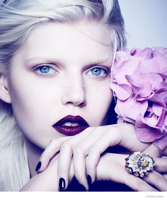 Ola  Rudnicka by Ben Hassett for Dior Magazine