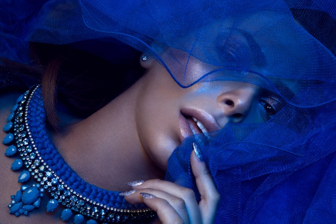 Thirst For Azure editorial for Ellements Magazine, June 2015 - in Jolita Jewellery's braided Santorini statement necklace