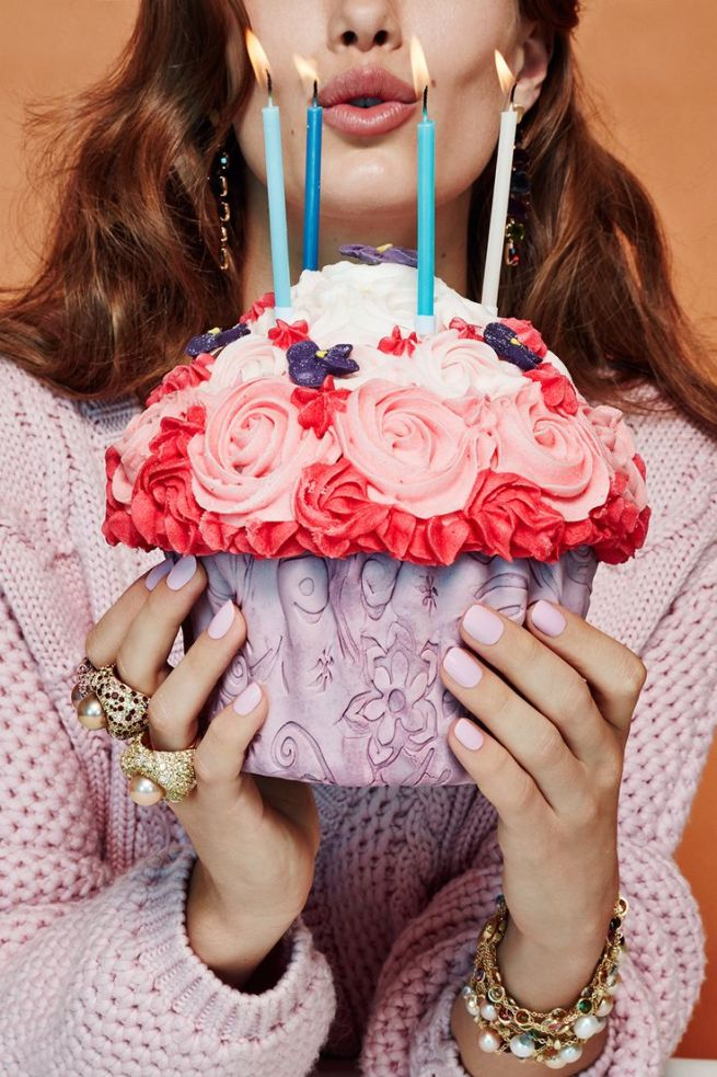 Cakes and Jewelry by Jamie Nelson for Glamour Italia