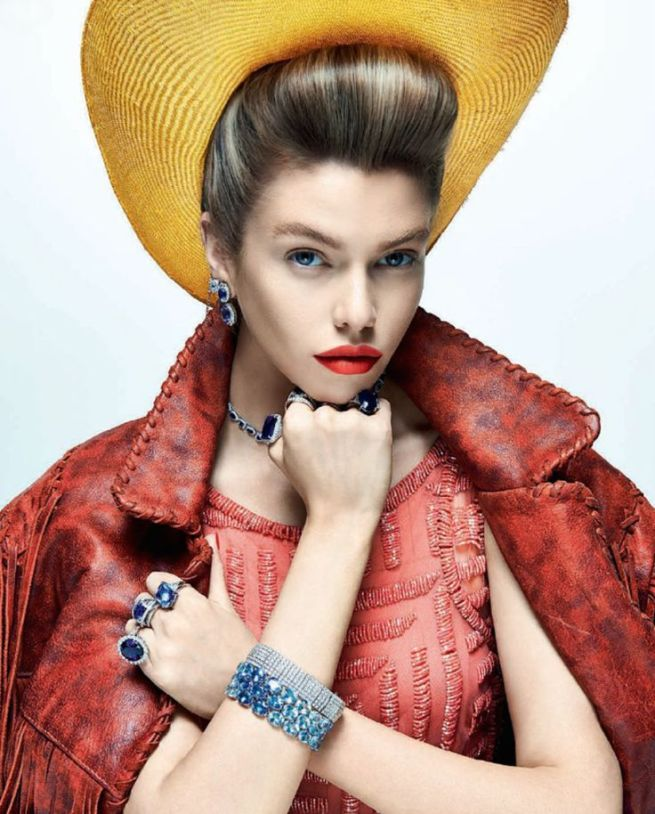 Paris, Texas - Stella Maxwell by Zee Nunes for Vogue Brazil August 2014