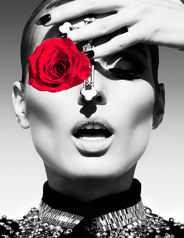 A Rose By Any Other Name editorial by Enrique Vega for Koncierge Magazine