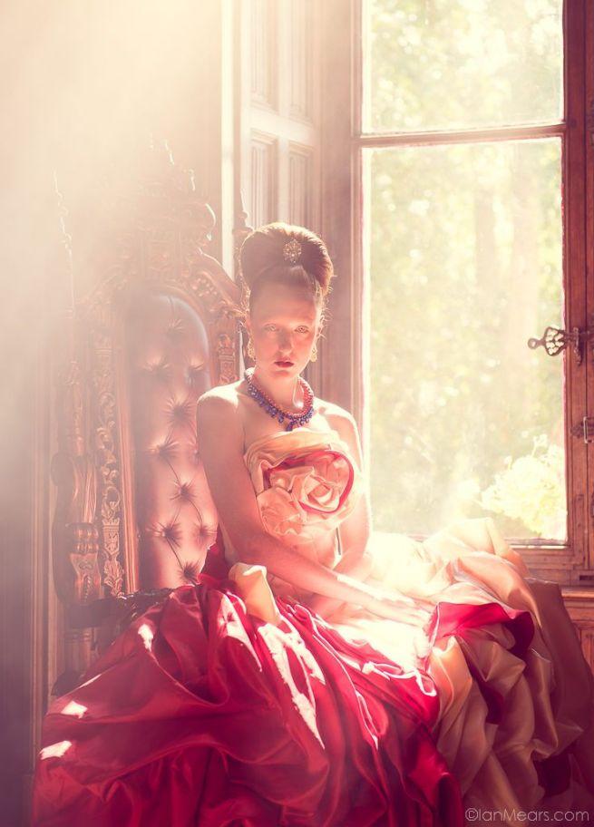 Model: Kim Davis Dress: Miss Aniela Jewellery: Jolita Photography: Ian Mears Stylist: Minna Attala Hair: Anne Veck Makeup: Grace Gray