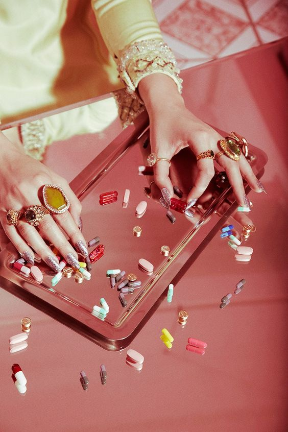 Valley of the Dolls jewellery editorial by Jamie Nelson