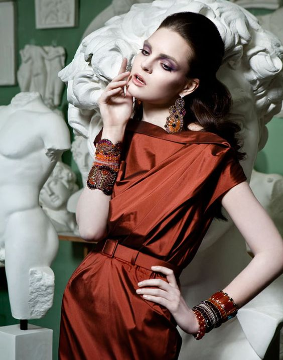 Vogue Accessory advertorial by Lucia Giacani