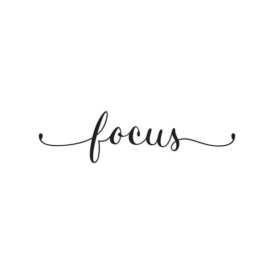 Focus quote