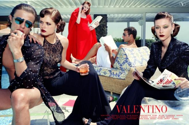 Steven Meisel for Valentino Fall Winter 2000-2001