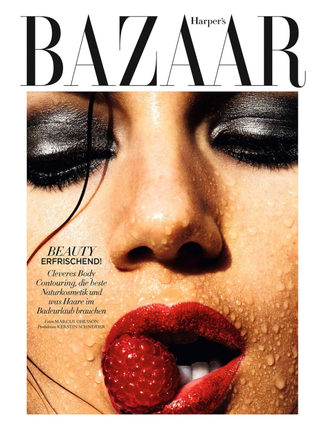 Harpers Bazaar Germany May 2016 Valery Kaufman by Marcus Ohlsson