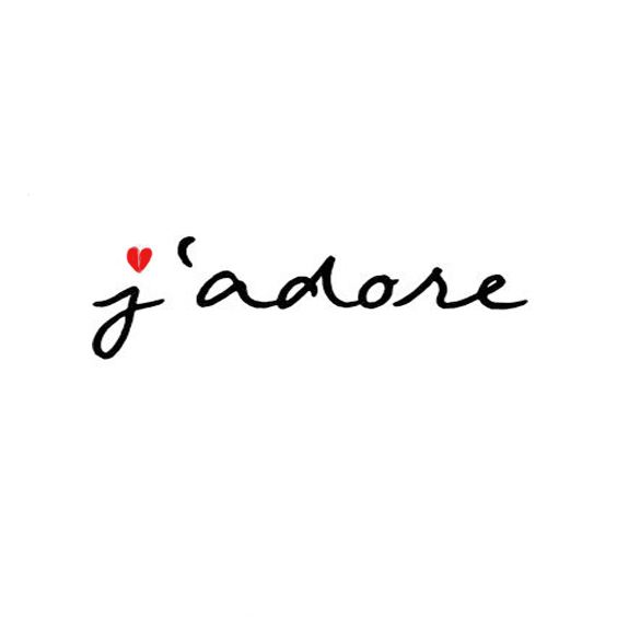 Thought of the week: j'adore